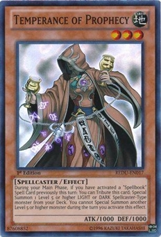 Yu-Gi-Oh Return of the Duelist Single Temperance of Prophecy Super Rare