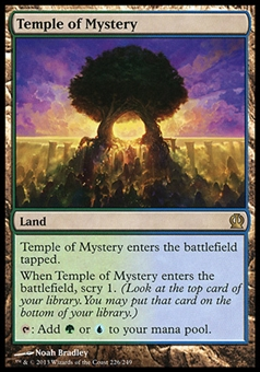 Magic the Gathering Theros Single Temple of Mystery - SLIGHT PLAY (SP)
