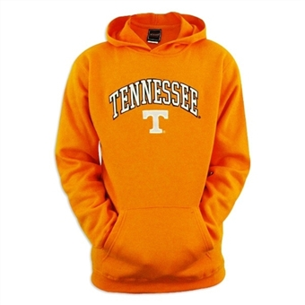 Tennessee Volunteers NCAA Genuine Stuff Orange Fleece Hoodie (Size Small)