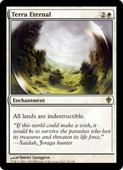 Magic the Gathering Worldwake Single Terra Eternal - NEAR MINT (NM)