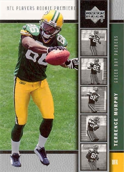 2005 Upper Deck Football Terrence Murphy 50 Rookie Card Lot