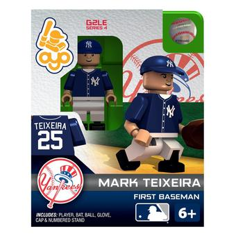OYO New York Yankees Mark Teixeira G2LE Series 4 Minifigure