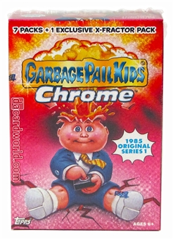 Garbage Pail Kids Chrome 8-Pack Box (Topps 2013) (One Exclusive X-Fractor Pack in Every Box)!