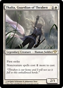 Magic the Gathering Dark Ascension Single Thalia, Guardian of Thraben UNPLAYED (NM/MT)