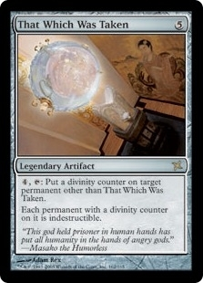 Magic the Gathering Betrayers of Kami Single That Which Was Taken FOIL