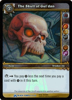 WoW Black Temple Singles 4x The Skull of Gul'dan (BTT-5) FOIL