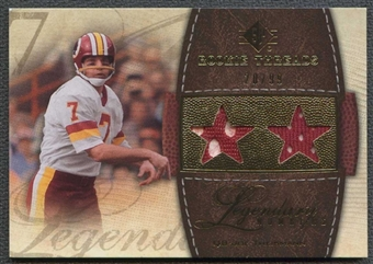 2008 Upper Deck SP Rookie Threads Legendary Numbers 99 #LNJT Joe Theismann 20/99