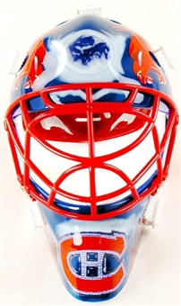 2002/03 Upper Deck Mask Collection Jose Theodore Canadiens Mini Mask