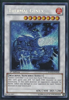 Yu-Gi-Oh Hidden Arsenal 2 Single Thermal Genex Secret Rare