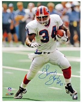 Thurman Thomas Autographed Buffalo Bills 16x20 Football Photo