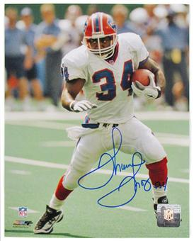 Thurman Thomas Autographed Buffalo Bills 8x10 Football Photo