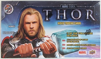 Marvel THOR - The Mighty Avenger Trading Cards Hobby Box (Upper Deck 2011)