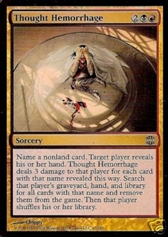 Magic the Gathering Alara Reborn Single Thought Hemorrhage Foil