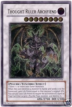 Yu-Gi-Oh Duelist Genesis Single Thought Ruler Archfiend Ultimate Rare