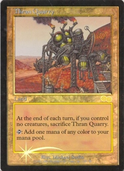 Magic the Gathering Urza's Saga Single Thran Quarry Foil (JSS)