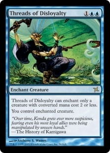 Magic the Gathering Betrayers of Kami Single Threads of Disloyalty Foil