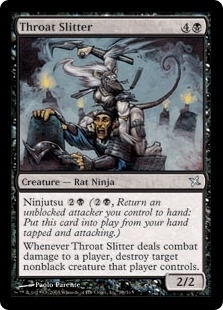 Magic the Gathering Betrayers of Kami Single Throat Slitter Foil