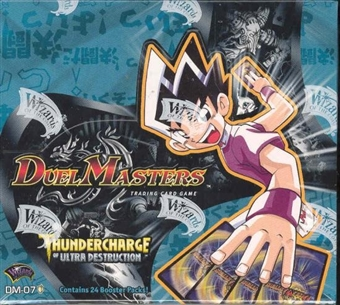 WOTC DuelMasters Thundercharge Ultra Destruction Booster Box