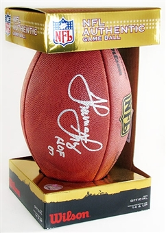 Thurman Thomas Autographed Buffalo Bills Official NFL Football