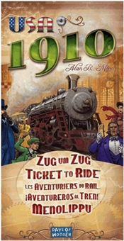Ticket To Ride: USA 1910 Expansion Box