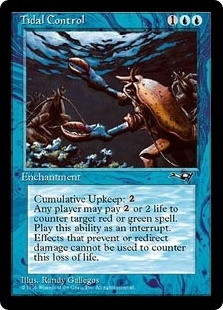 Magic the Gathering Alliances Single Tidal Control - NEAR MINT (NM)