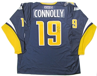 Tim Connolly Autographed Buffalo Sabres Blue Old Logo Jersey