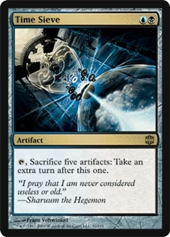 Magic the Gathering Alara Reborn Single Time Sieve Foil
