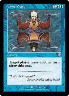 Magic the Gathering Starter Single Time Warp UNPLAYED (NM/MT)