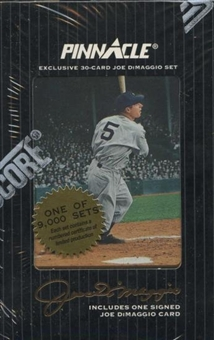 1993 Pinnacle Joe DiMaggio Hobby Set (Box) (DiMaggio Auto) - 1 of 5