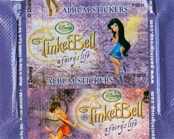 Disney Tinker Bell Sticker Pack (Panini) (Lot of 50)