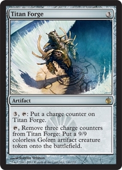 Magic the Gathering Mirrodin Besieged Single Titan Forge - NEAR MINT (NM)
