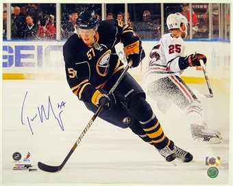 Tyler Myers Autographed Buffalo Sabres 16x20 Hockey Photo