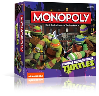 Teenage Mutant Ninja Turtles (Cartoon) Monopoly Board Game (USAopoly)