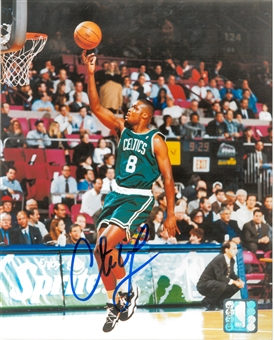 Antoine Walker Autographed Boston Celtics 8x10 Photo (Press Pass)