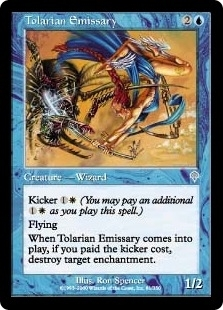 Magic the Gathering Invasion Single Tolarian Emissary FOIL