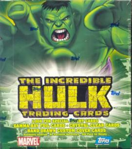 The Incredible Hulk Hobby Box (2003 Topps)