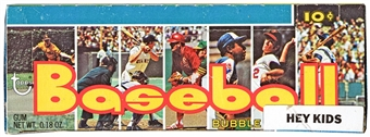 1973 Topps Baseball 5th Series Wax Box