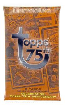 2013 Topps 75th Anniversary Hobby Pack (24 Pack Lot) (Same as Box)