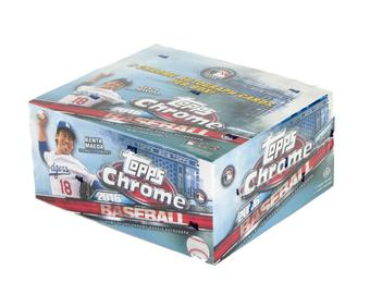 2016 Topps Chrome Baseball Hobby Jumbo Box