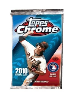 2010 Topps Chrome Baseball Hobby Pack