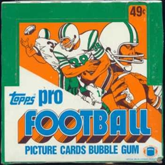 1980 Topps Football Cello Box