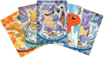 Topps Pokemon Trading Cards - 750 Card Lot! Great Deal!
