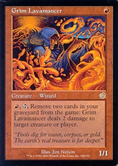 Magic the Gathering Torment Single Grim Lavamancer UNPLAYED (NM/MT)