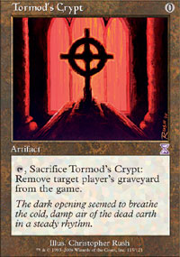 Magic the Gathering Time Spiral Single Tormod's Crypt - NEAR MINT (NM)