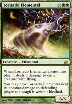 Magic the Gathering Fifth Dawn Single Tornado Elemental - NEAR MINT (NM)