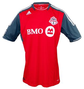 Toronto FC Adidas ClimaCool Red Replica Jersey (Adult XL)