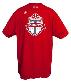 Toronto FC Adidas The Go To Red Tee Shirt (Adult S)