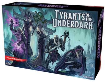 Dungeons & Dragons: Tyrants of the Underdark Board Game (GF9)