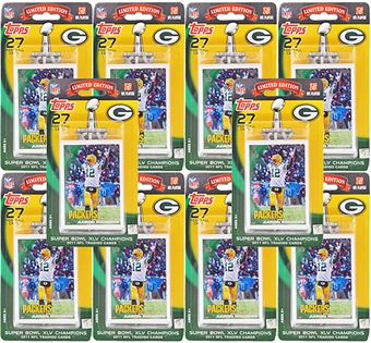 2011 Topps Super Bowl XLV Champions Set Green Bay Packers (10 Sets)