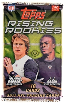 2011 Topps Rising Rookies Football Hobby Pack
